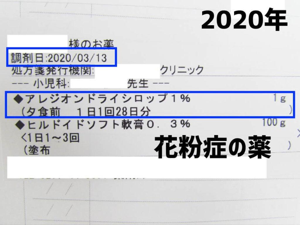 2020年処方箋