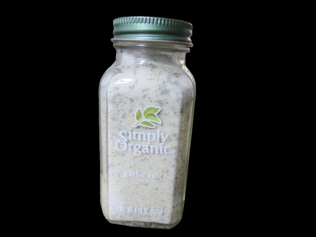 simply organic garlic salt