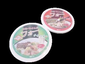 ベトナム産フォー チキン味&トムヤム味