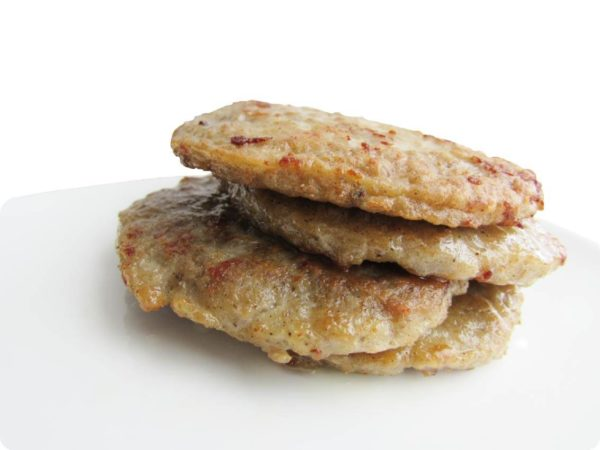 breakfast patties 調理例