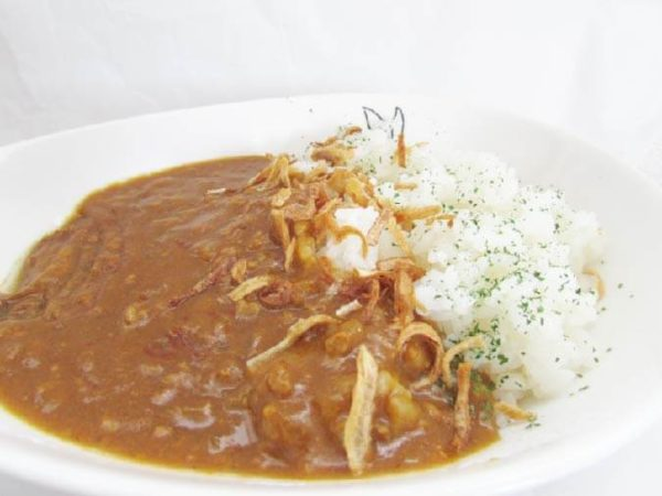 co-opキーマカレー盛り付け例