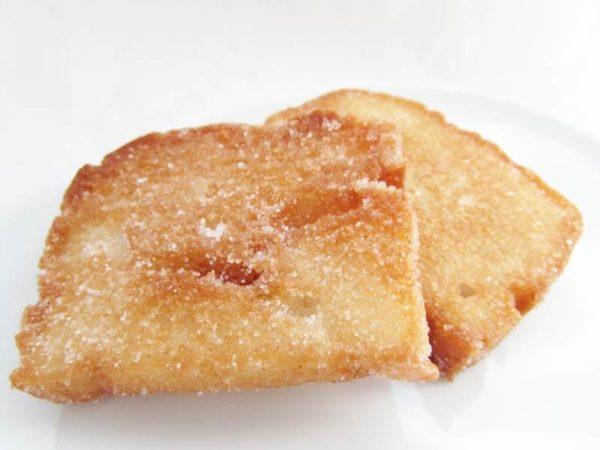 お米で作ったしかくいパンで作ったラスク