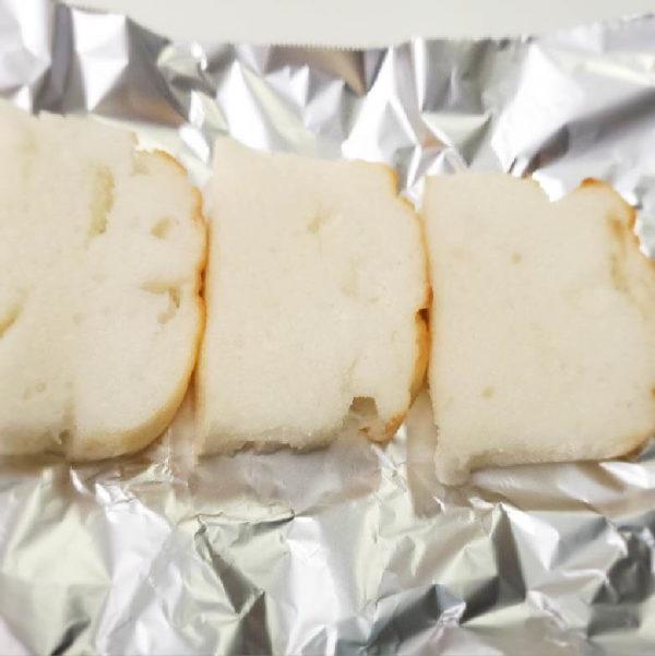 お米で作ったしかくいパン焼き方例